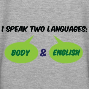 I Speak Two Languages 1 (dd)++ Hoodies & Sweatshirts - Women's Premium Hoodie