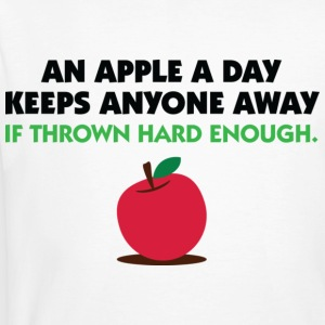 An Apple A Day 2 (dd)++ T-Shirts - Männer Bio-T-Shirt