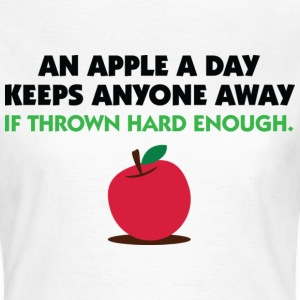 An Apple A Day 2 (dd)++ T-Shirts - Women's T-Shirt