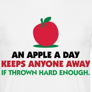 An Apple A Day 1 (dd)++ T-Shirts - Männer T-Shirt