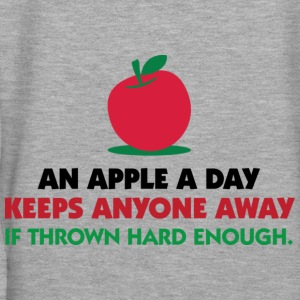 An Apple A Day 1 (dd)++ Sweatshirts - Dame Premium hættetrøje