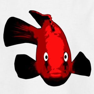 roter Fisch Kinder T-Shirts - Teenager T-Shirt