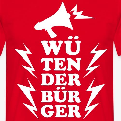 Wuetender Buerger / Megaphon 1c