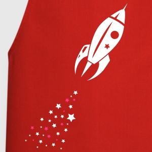Some stars as rocket tail for a rocket  Aprons - Cooking Apron