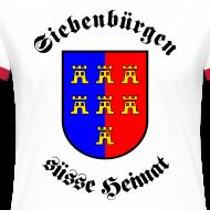 Motiv ~ T-Shirt 'Siebenbürgen suesse Heimat' - Wappen der Siebenbürger Sachsen