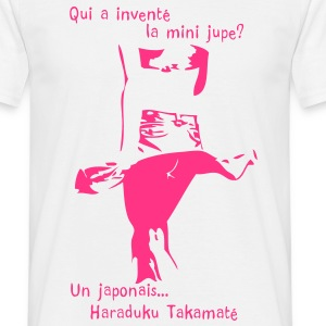 invention de la mini jupe T-shirts - T-shirt Homme