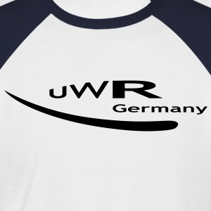 UWR Germany - Männer Baseball-T-Shirt