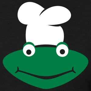 Cooking frog for black clothes T-Shirts - Männer T-Shirt