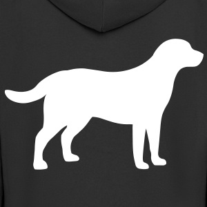 Labrador Retriever Dog Coats & Jackets - Men's Premium Hooded Jacket