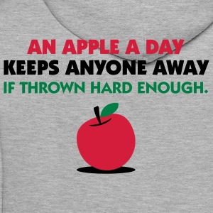An Apple A Day 2 (3c)++ Hoodies & Sweatshirts - Men's Premium Hoodie