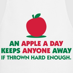 An Apple A Day 1 (2c)++  Aprons - Cooking Apron