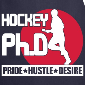 Hockey Ph.D (field hockey)  Aprons - Cooking Apron