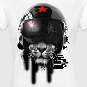 tshirt ccp lion of death by customstyle T-shirts - T-shirt Femme
