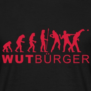 evolution_wut1 T-Shirts - Männer T-Shirt