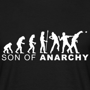 evolution_anarchy2 T-Shirts - Männer T-Shirt