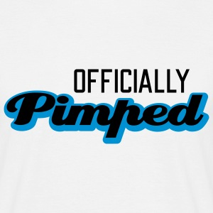 Officially Pimped | Pimp | Tuned | Tuning T-Shirts - T-skjorte for menn