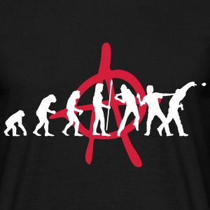 evolution_anarchy T-Shirts - Männer T-Shirt