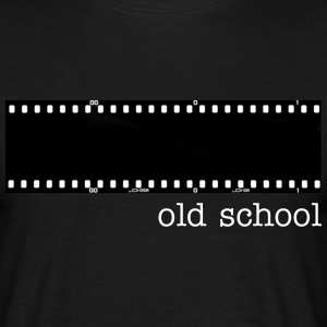Old school (men) - Men's T-Shirt
