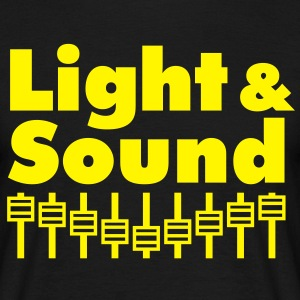 Light & Sound T-Shirt - Männer T-Shirt