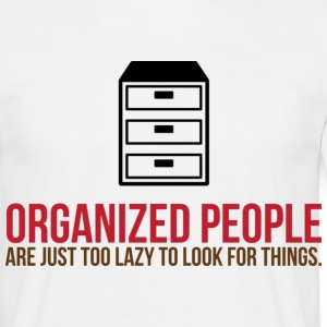 Organized People 2 (dd)++ T-skjorter - T-skjorte for menn