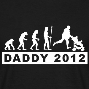 evolution_daddy__1 T-Shirts - Männer T-Shirt