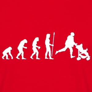 evolution_papa1 T-Shirts - Men's T-Shirt