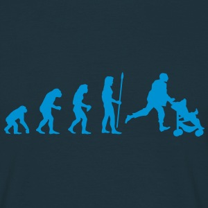 evolution_papa T-Shirts - Men's T-Shirt