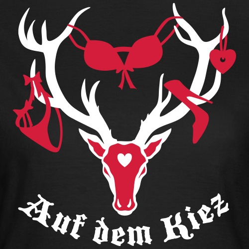 Hirsch auf dem Kiez / Hamburg HH Deer Reindeer 2c