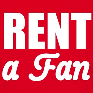 Rent a Fan | for rent T-Shirts - Herre-T-shirt