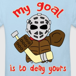 Little Vintage Goalie Kids' Shirts - Kids' Organic T-shirt