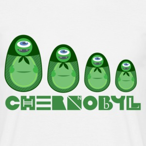 Matruschka Chernobyl - Men's T-Shirt
