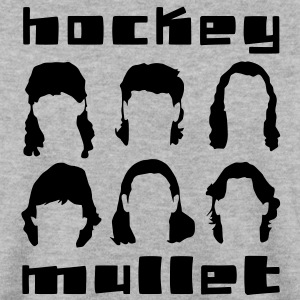 'Hockey Mullet' Sweat-shirt hockey sur glace Homme - Sweat-shirt Homme