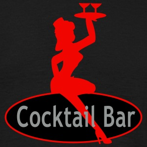 Vintage Cocktail by Patjila T-shirts - Mannen T-shirt