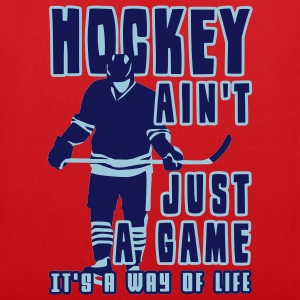 'Hockey Ain't Just A Game' Tote Bag / Stofftasche - Stoffbeutel