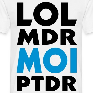 lol mdr MOI ptdr (2c) T-shirts - T-shirt Homme