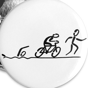 Triathlon Buttons - Buttons large 56 mm