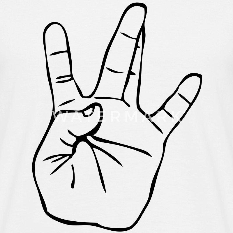 West Side Hand Sign Drawing Westside Gangster Hand...