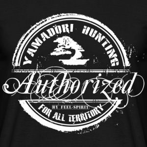 Tampon Yamadori Hunting Authorized - Men's T-Shirt