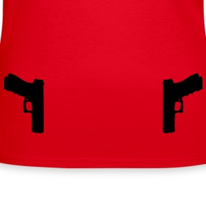 Guns Holster T-Shirts - Frauen T-Shirt