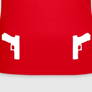 Guns Holster T-shirts - Vrouwen T-shirt