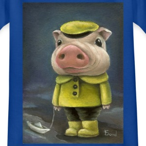 Peter the pig - Teenage T-shirt
