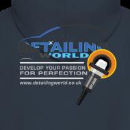 Design ~ Detailing World Hooded Jacket 'Develop Your Passion'