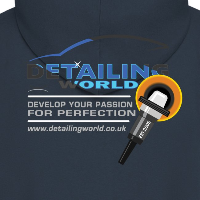Detailing World Hooded Jacket 'Develop Your Passion'