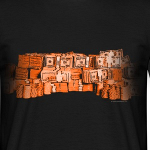 money-orange Tee shirts - T-shirt Homme