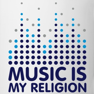 Music Is My Religion Mug - Mugg