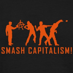 evolution_capitalism T-skjorter - T-skjorte for menn