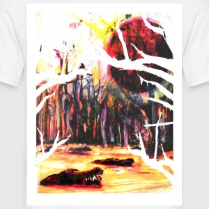 Alligator White - Men's T-Shirt