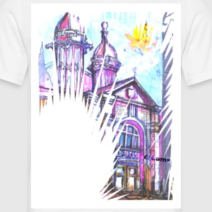 Temple of Dreams White - Men's T-Shirt