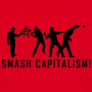 evolution_capitalism1 T-Shirts - Men's T-Shirt