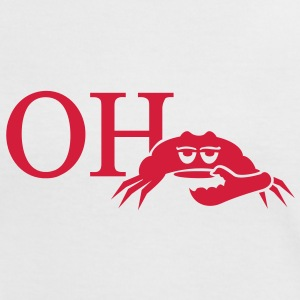 oh crab (1c) T-shirts - Vrouwen contrastshirt